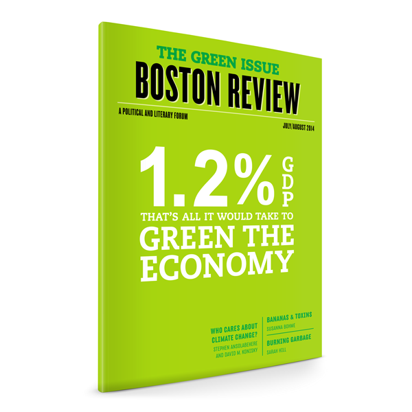 Build the Green Economy (July/August 2014)